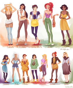 Alternate Disney Princesses