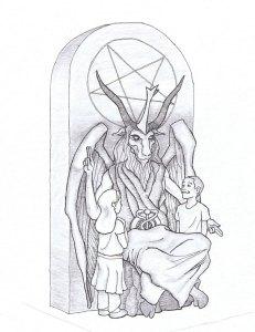 How to help Christians who don't like Satanist prayers