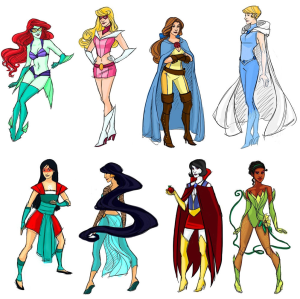 Superhero-Disney-Princesses