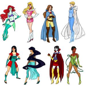 Superhero-Disney-Princesses