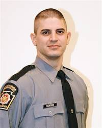 I refuse to put the killer's picture up.  This is Trooper Bryon Dickson.  (He looks familiar;  I'm trying to remember if I've had any cases with him.)