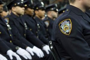 NYC Mayor Police Graduation