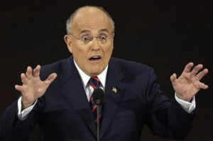 """Guiliani: """"Obama's not one of us. He wasn't brought up the way I was brought up."""" That's very true. Obama's father wasn't a mob enforcer who spent years in Sing Sing."""