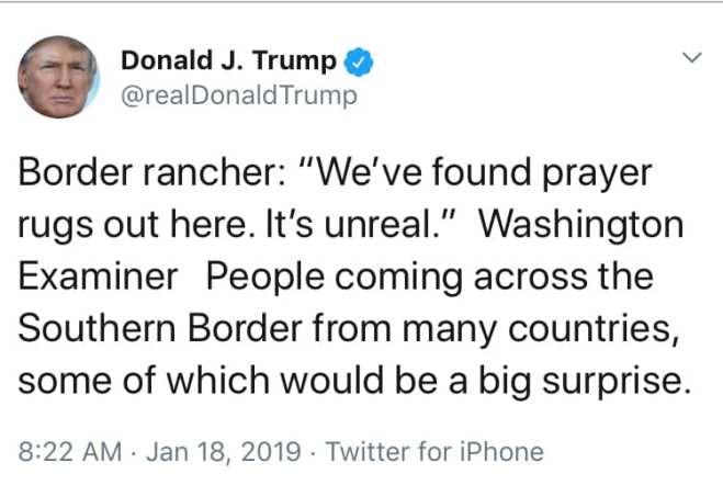 trump bigot